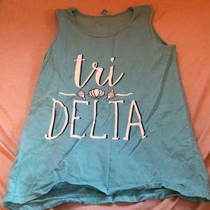 Tops - Comfort colors tri delta bid day tee